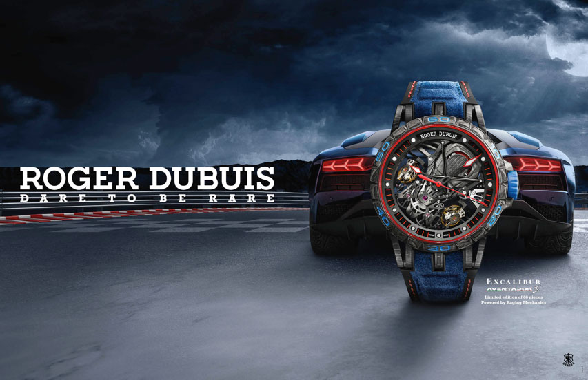 ROGERDUBUIS DARE TO BE RARE, EXCALIBUR