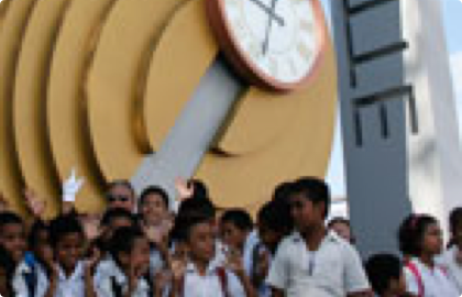 East Timor Clock donations